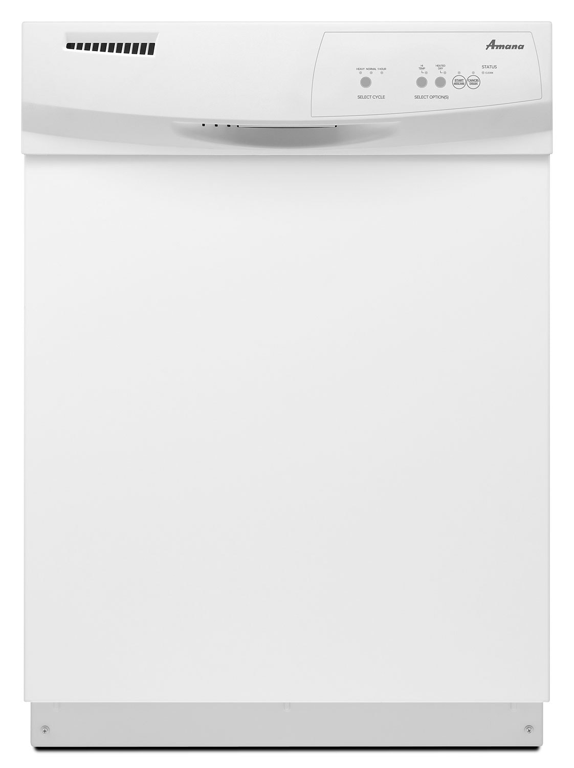 Clean-Up - Amana White Dishwasher - ADB1100AWW