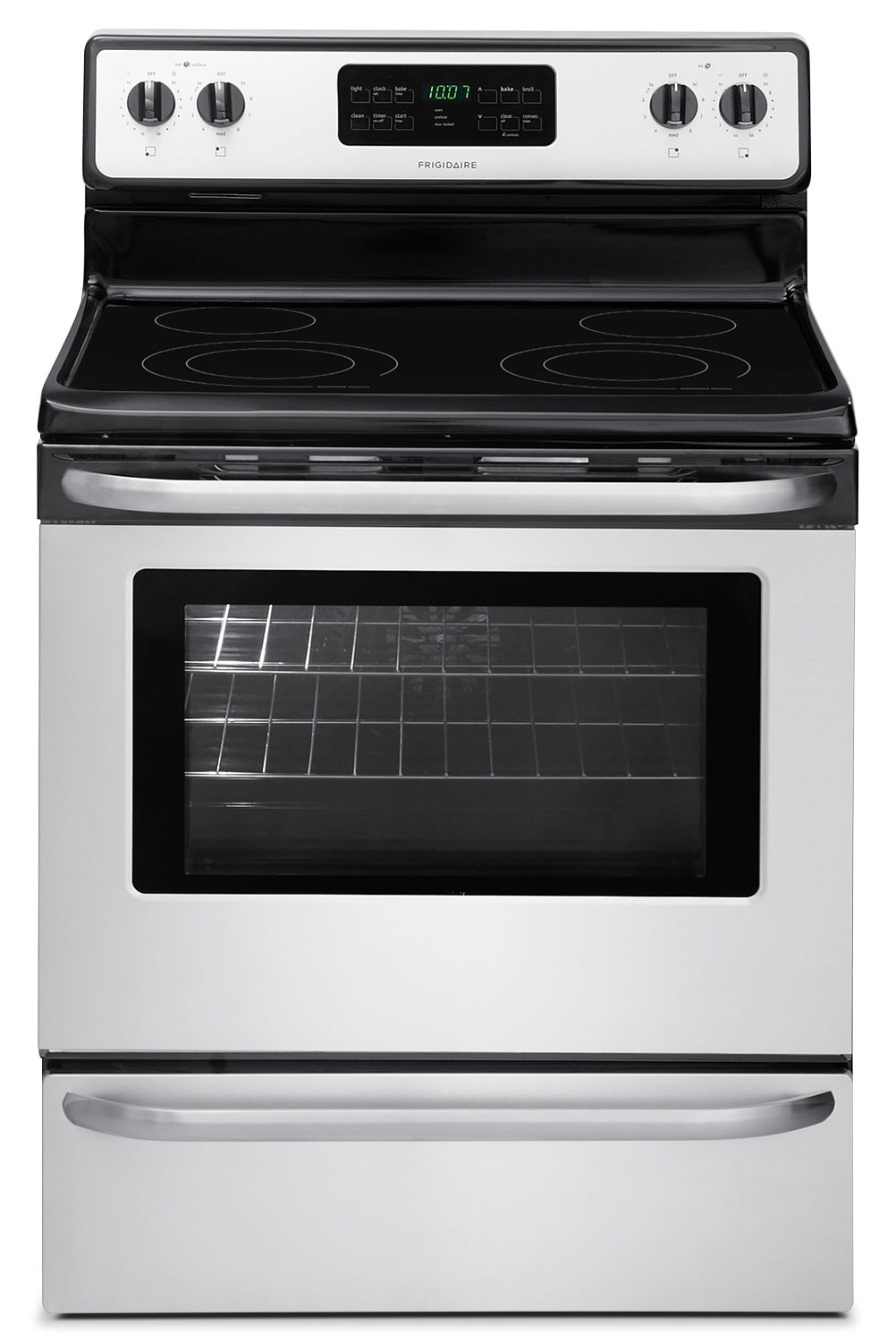 Frigidaire 5.4 Cu. Ft. Self-Clean Freestanding Range - Stainless Steel