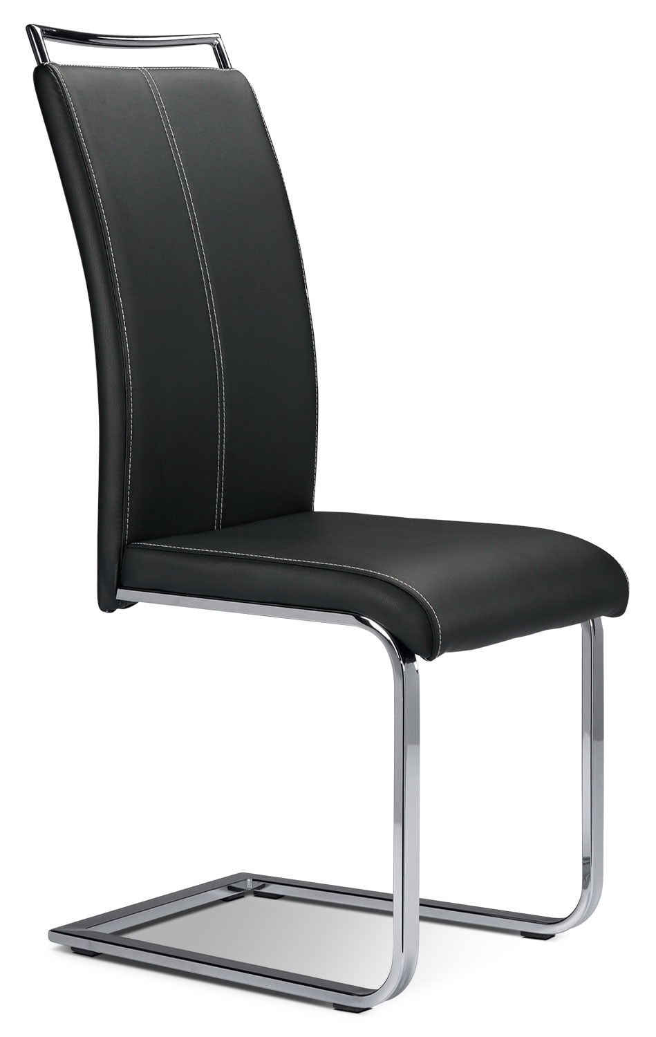 Casual Dining Room Furniture - Fontana Side Chair - Black