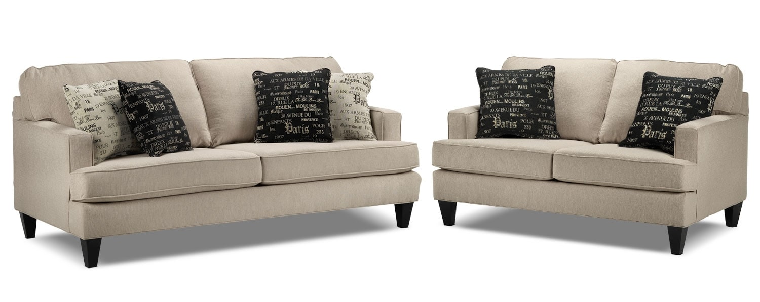 Capella 2 Pc. Living Room Package