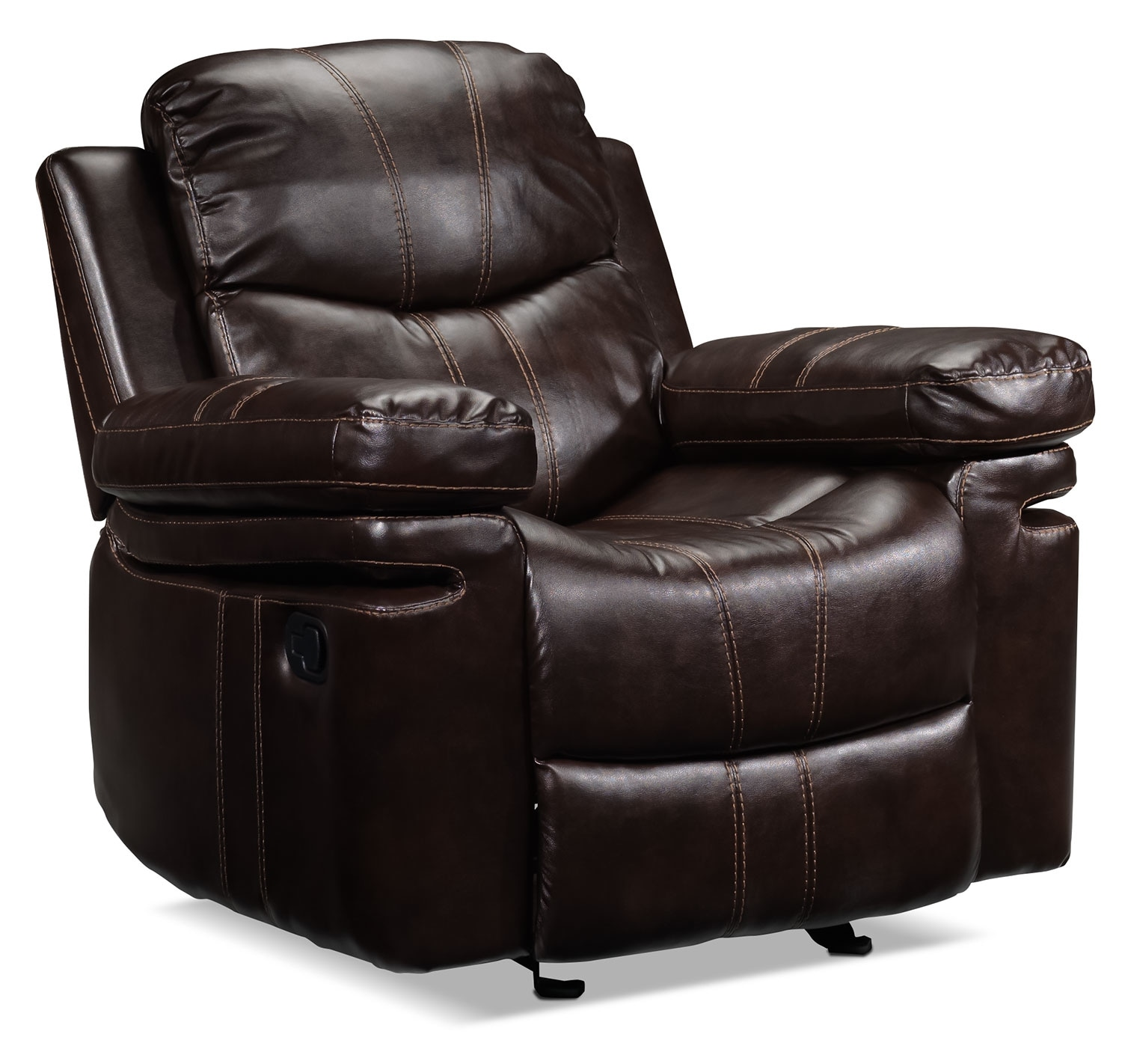 Barcelona Rocker Recliner - Brown