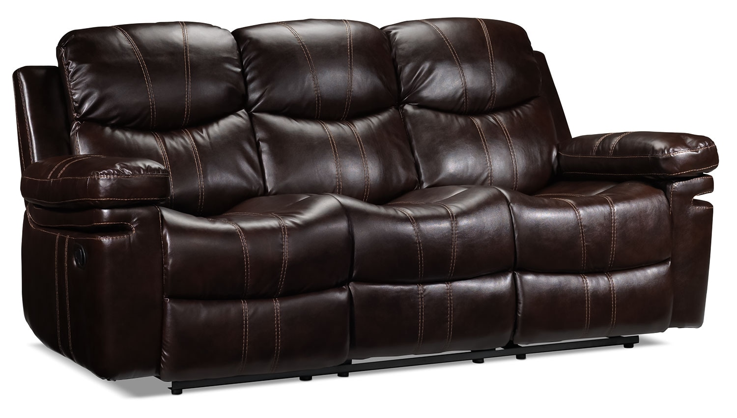 barcelona reclining sofa brown leon 39 s