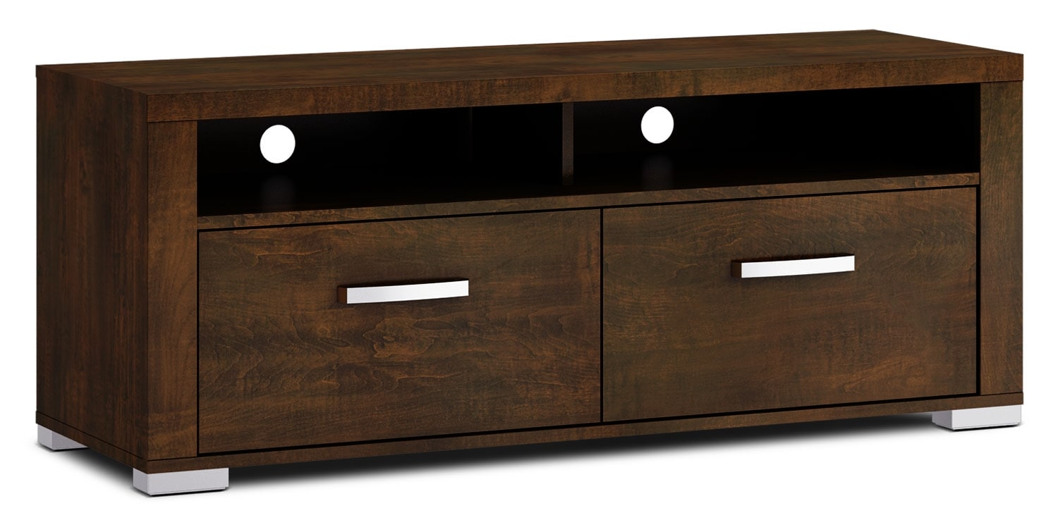 "Entertainment Furniture - Allendale 56"" TV Stand - Java"