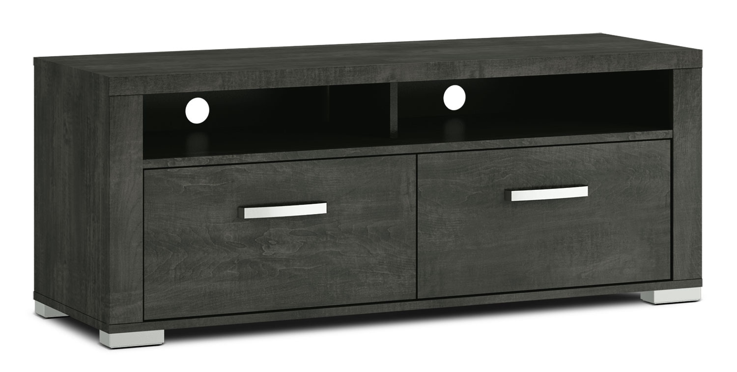 "Entertainment Furniture - Allendale 56"" TV Stand - Anthracite"