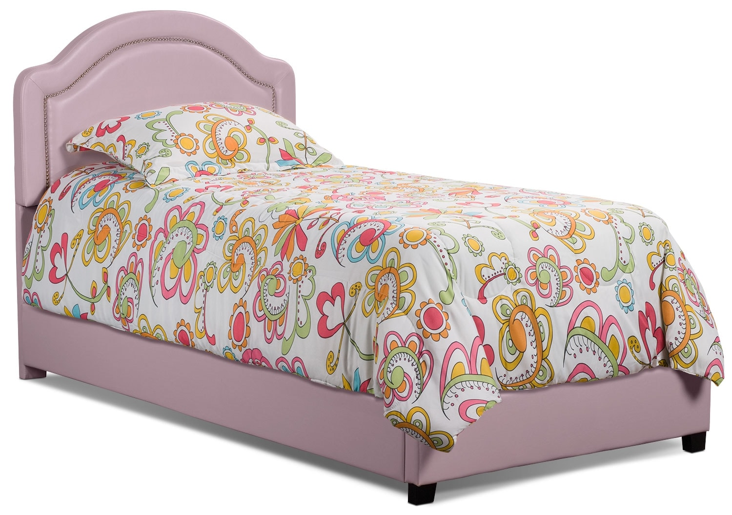 Kids Furniture - Madeline Twin Bed – Pink
