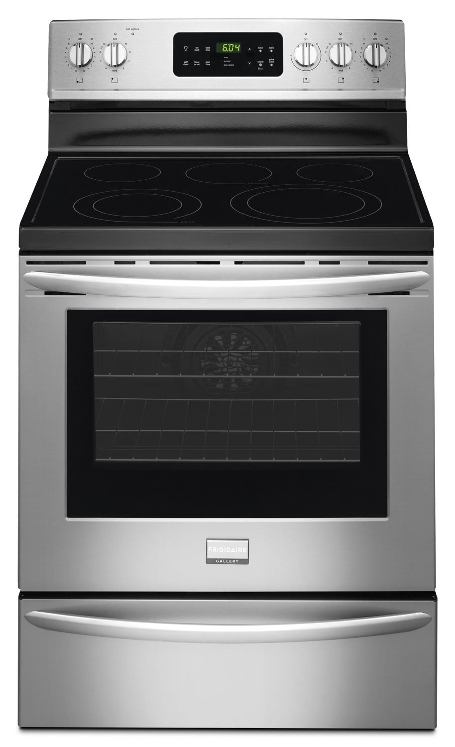 Cooking Products - Frigidaire Gallery 5.7 Cu. Ft. Freestanding Electric Range - Stainless Steel
