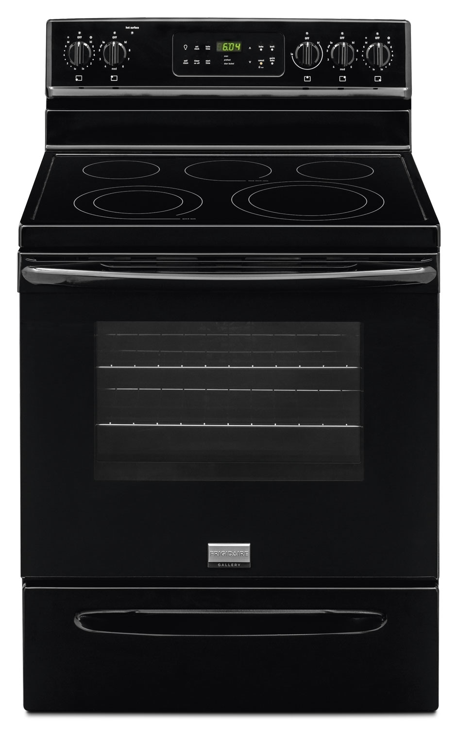 Cooking Products - Frigidaire Gallery 5.7 Cu. Ft. Freestanding Electric Range - Black
