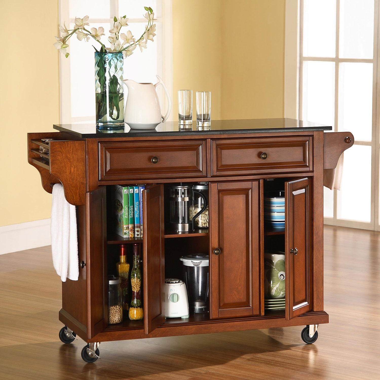 Kitchen Cabinets Richmond Va: Richmond Kitchen Cart - Cherry