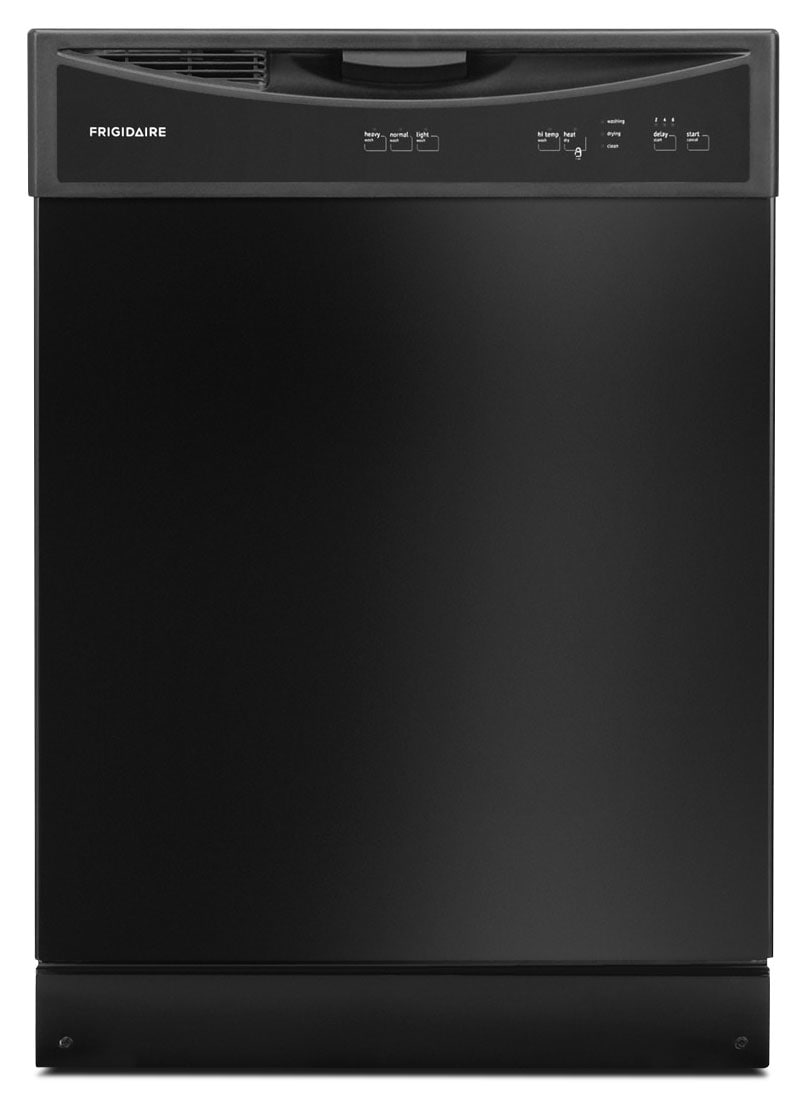 "Clean-Up - Frigidaire Black 24"" Dishwasher - FFBD2406NB"