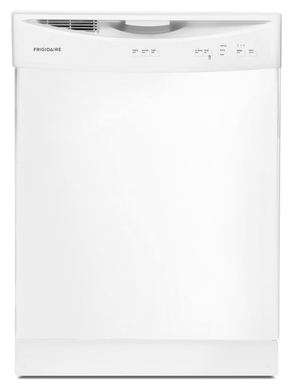 "Clean-Up - Frigidaire White 24"" Dishwasher - FFBD2406NW"