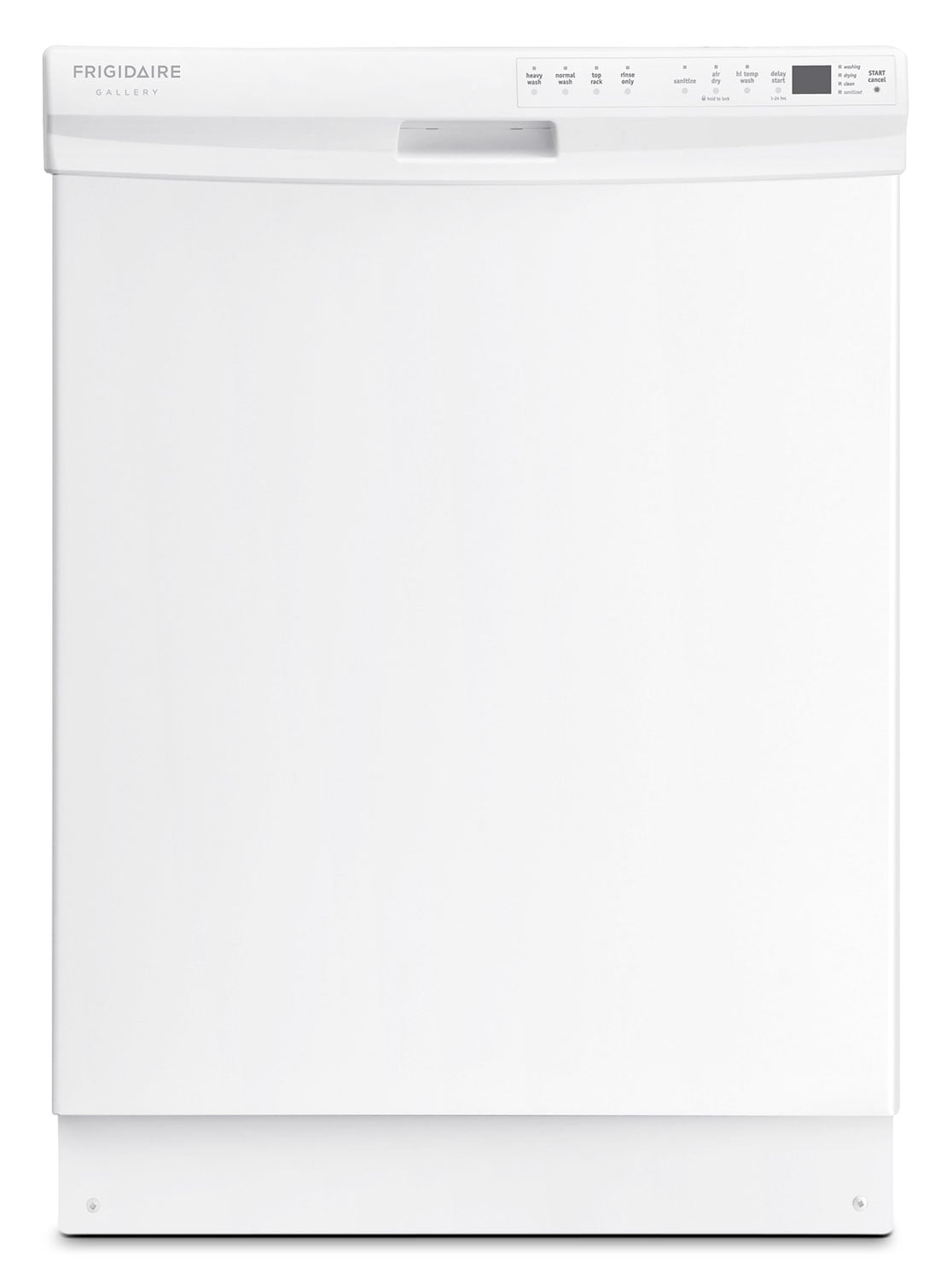 "Frigidaire Gallery White 24"" Dishwasher - FGBD2445NW"
