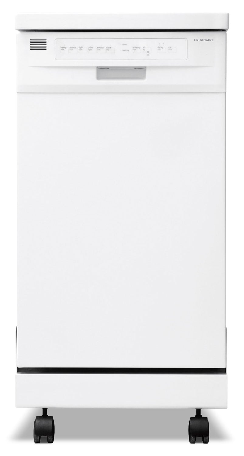 "Frigidaire White Portable 18"" Dishwasher - FFPD1821MW"