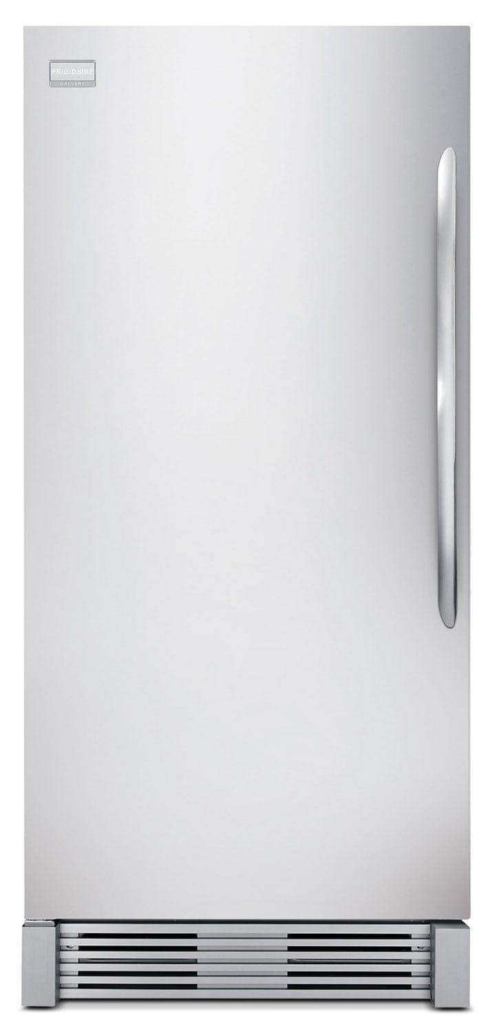 Refrigerators and Freezers - Frigidaire Gallery Stainless Steel Upright Freezer (18.5 Cu. Ft.) - FGFU19F6QF