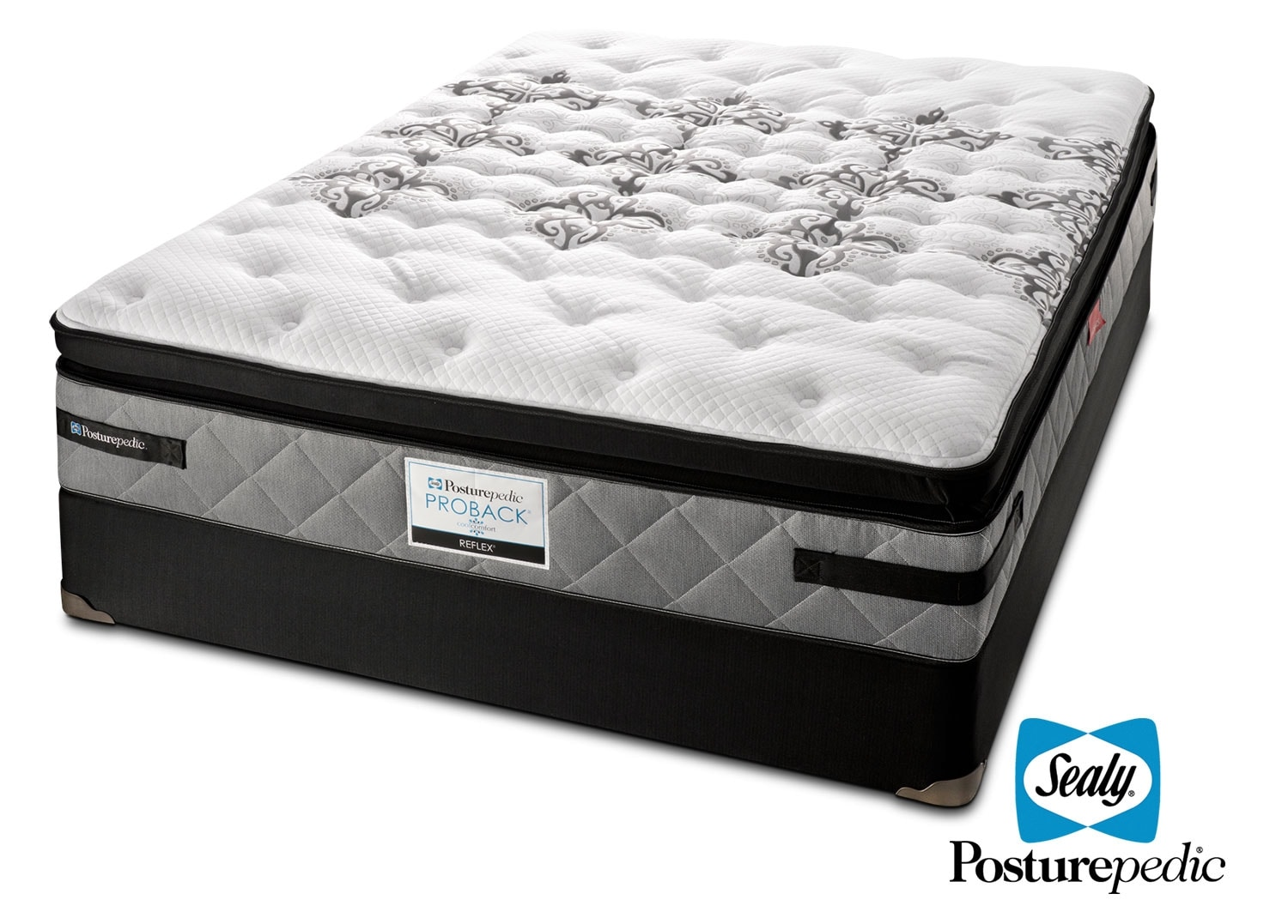 [Sealy Myth Firm Queen Mattress/Boxspring Set]