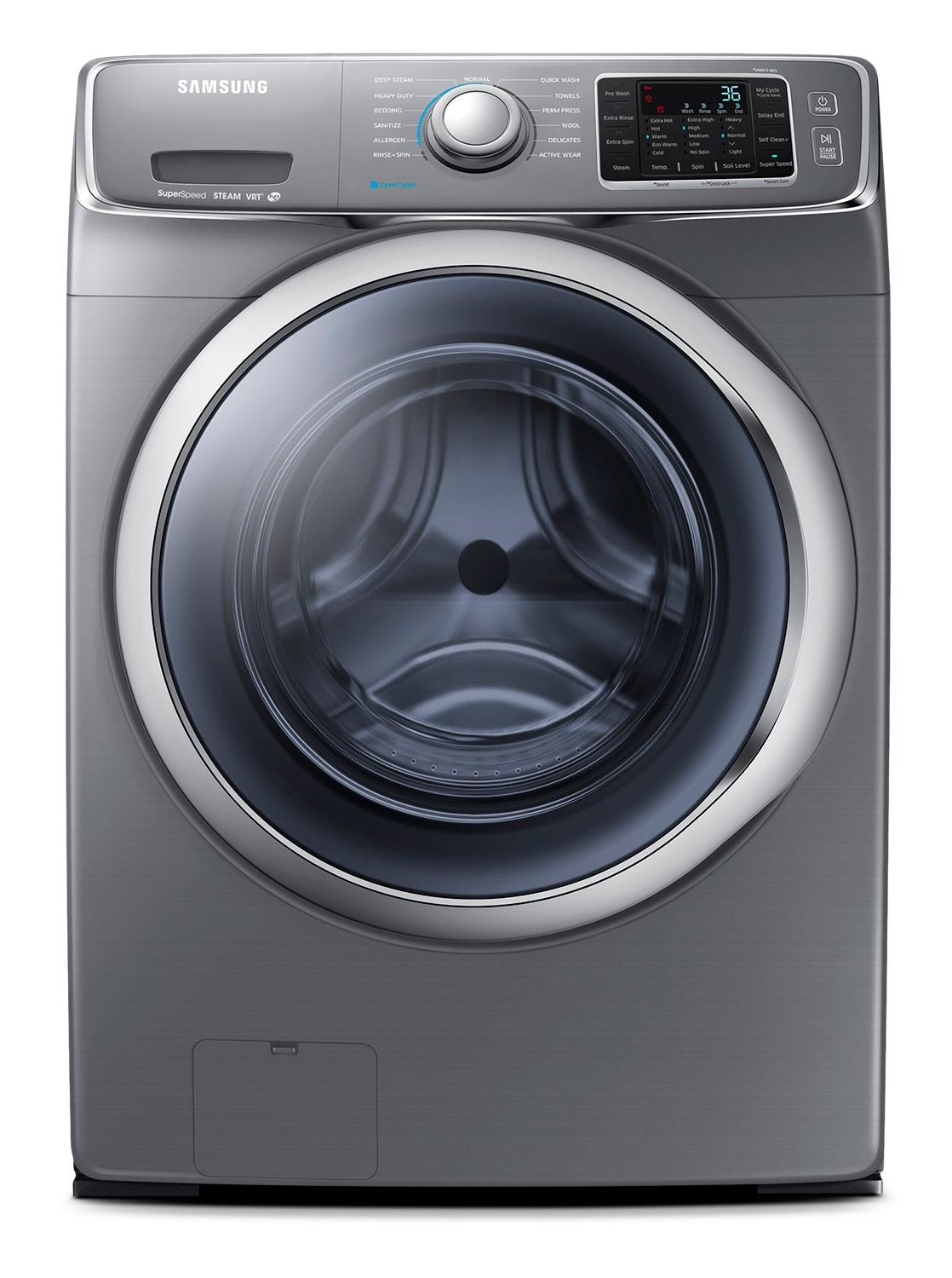Samsung Platinum Front-Load Washer (4.8 Cu. Ft.) - WF42H5600AP/A2