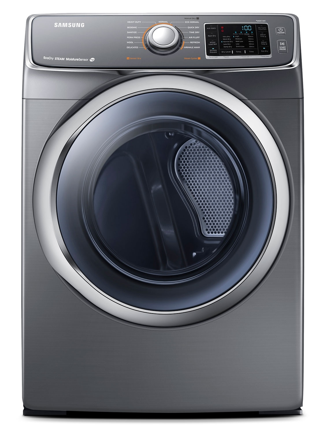 Washers and Dryers - Samsung Platinum Electric Dryer (7.5 Cu. Ft.) - DV42H5600EP/AC