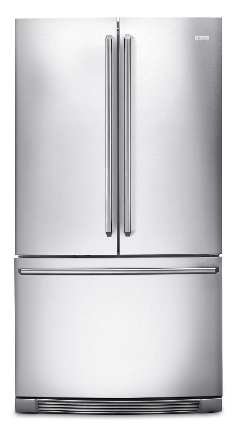 Refrigerators and Freezers - Electrolux Stainless Steel Counter-Depth French Door Refrigerator (22.55 Cu. Ft.) - EI23BC30KS