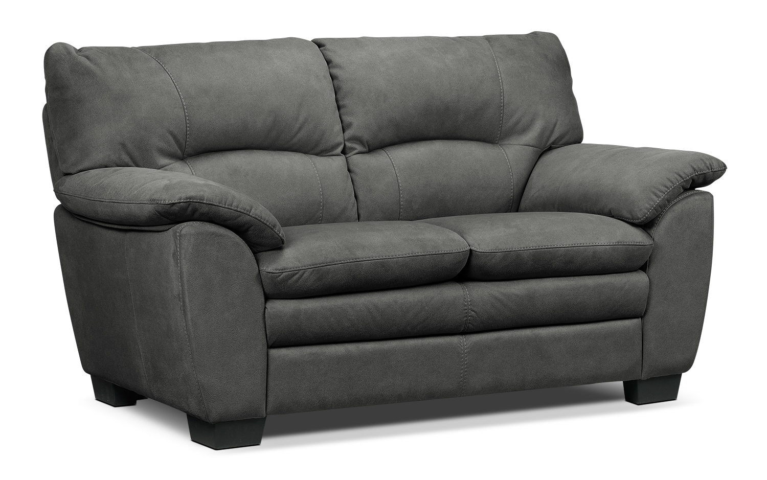 Kelleher Charcoal Loveseat