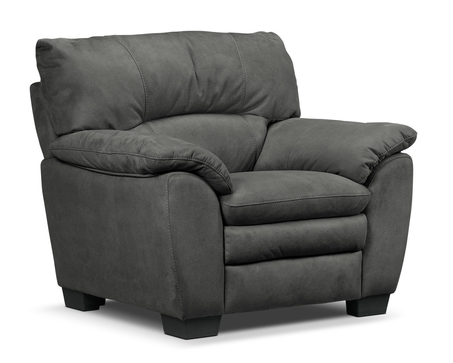 Living Room Furniture - Kelleher Charcoal Chair
