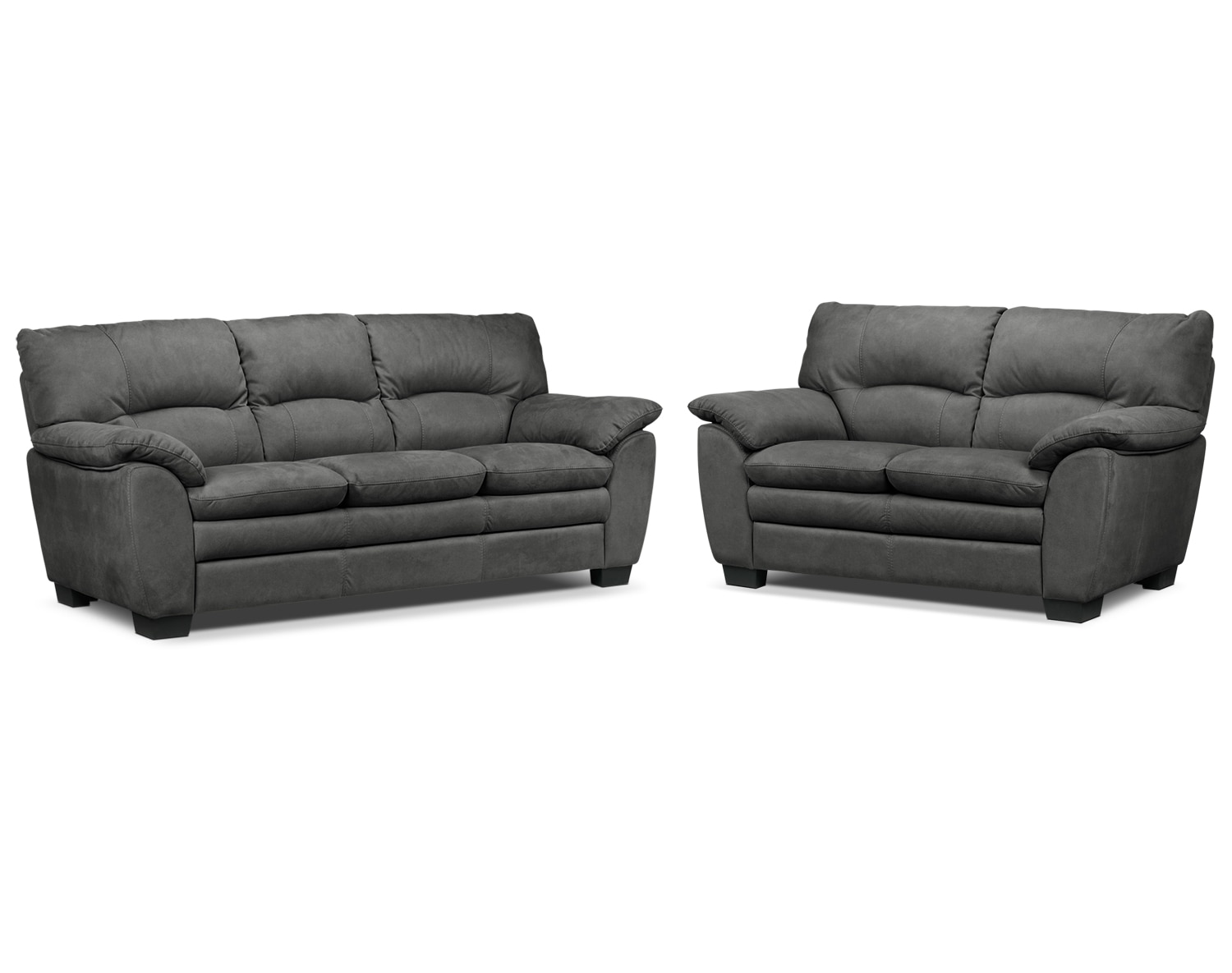 Kelleher Charcoal 2 Pc. Living Room Package