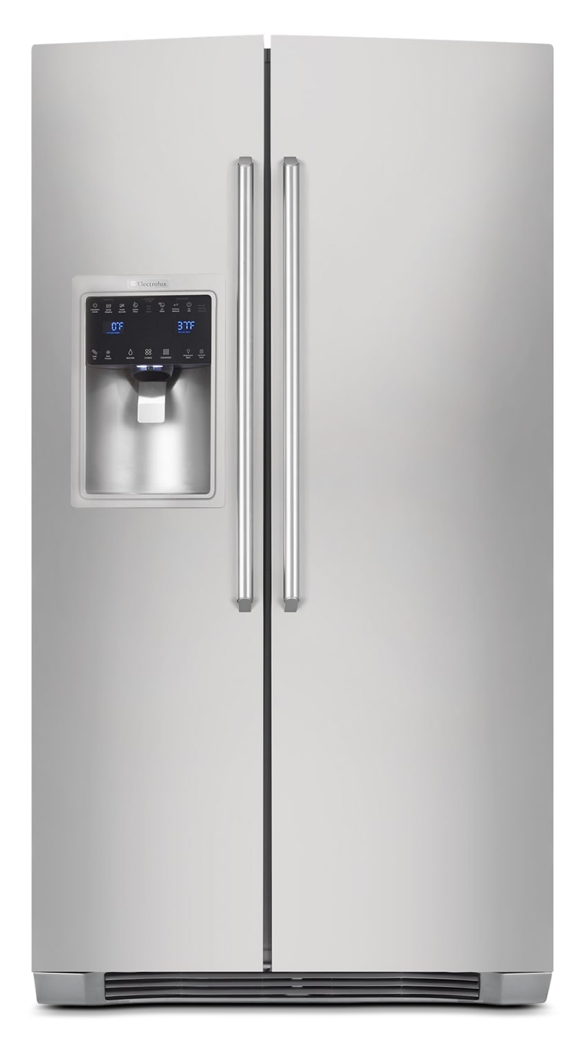 Electrolux Stainless Steel Counter-Depth Side-by-Side Refrigerator (22.67 Cu. Ft.) - EI23CS35KS