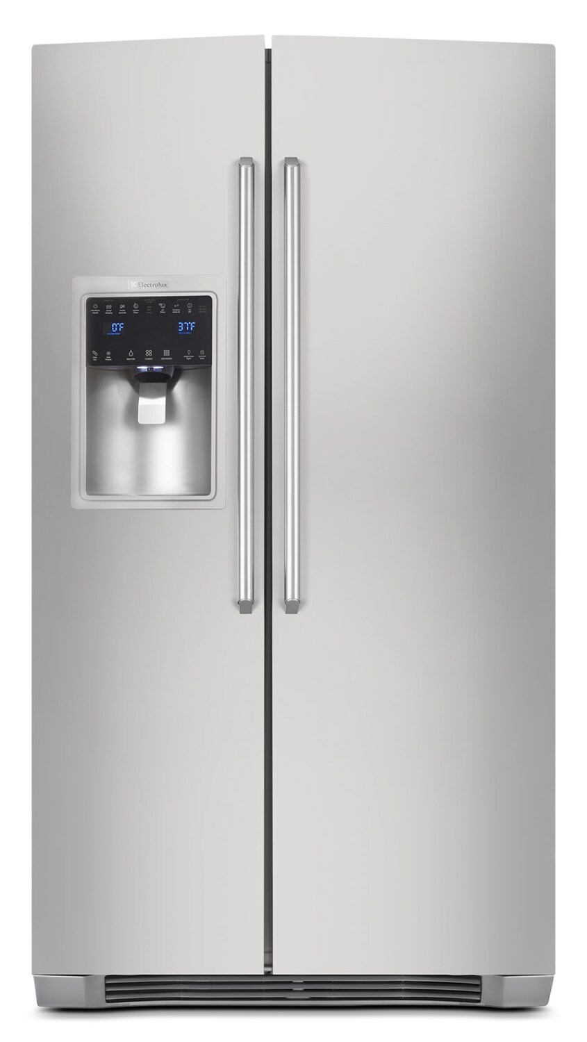 Refrigerators and Freezers - Electrolux Stainless Steel Counter-Depth Side-by-Side Refrigerator (22.67 Cu. Ft.) - EI23CS35KS