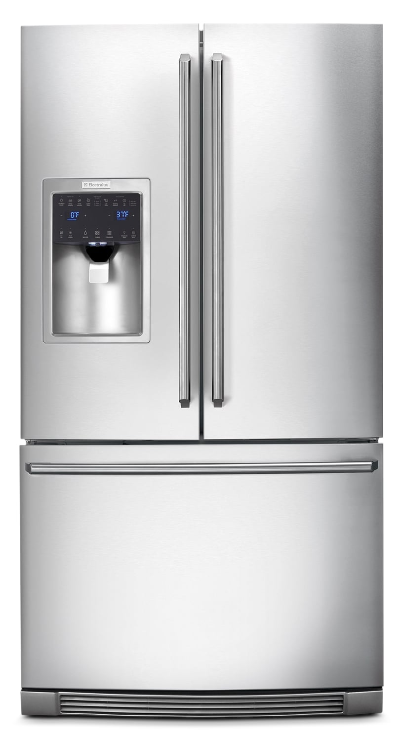 Refrigerators and Freezers - Electrolux Stainless Steel French Door Refrigerator (27.85 Cu. Ft.) - EI28BS65KS