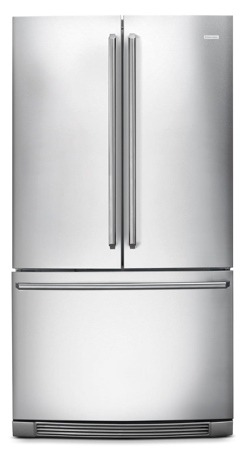 Refrigerators and Freezers - Electrolux Stainless Steel French Door Refrigerator (27.74 Cu. Ft.) - EI28BS80KS