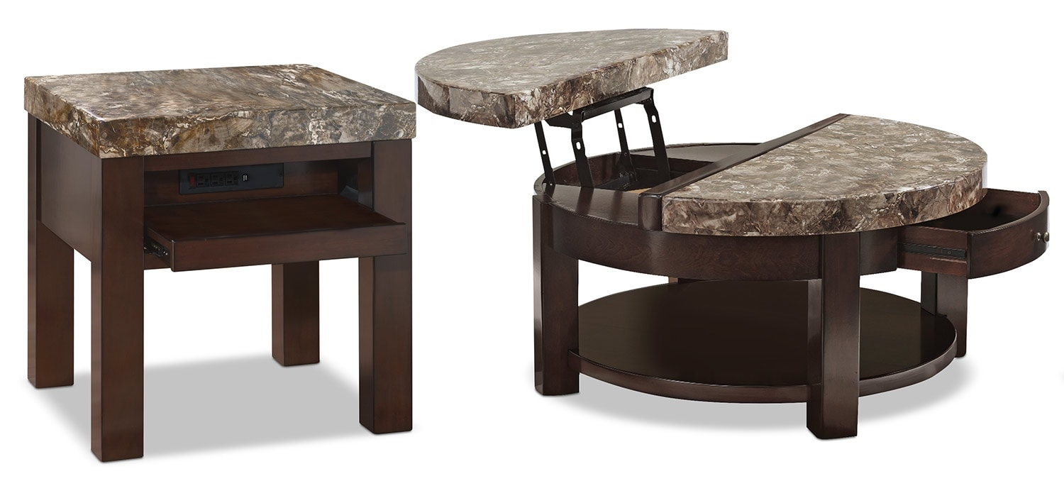 Emerson 2-Piece Coffee and End Table Package