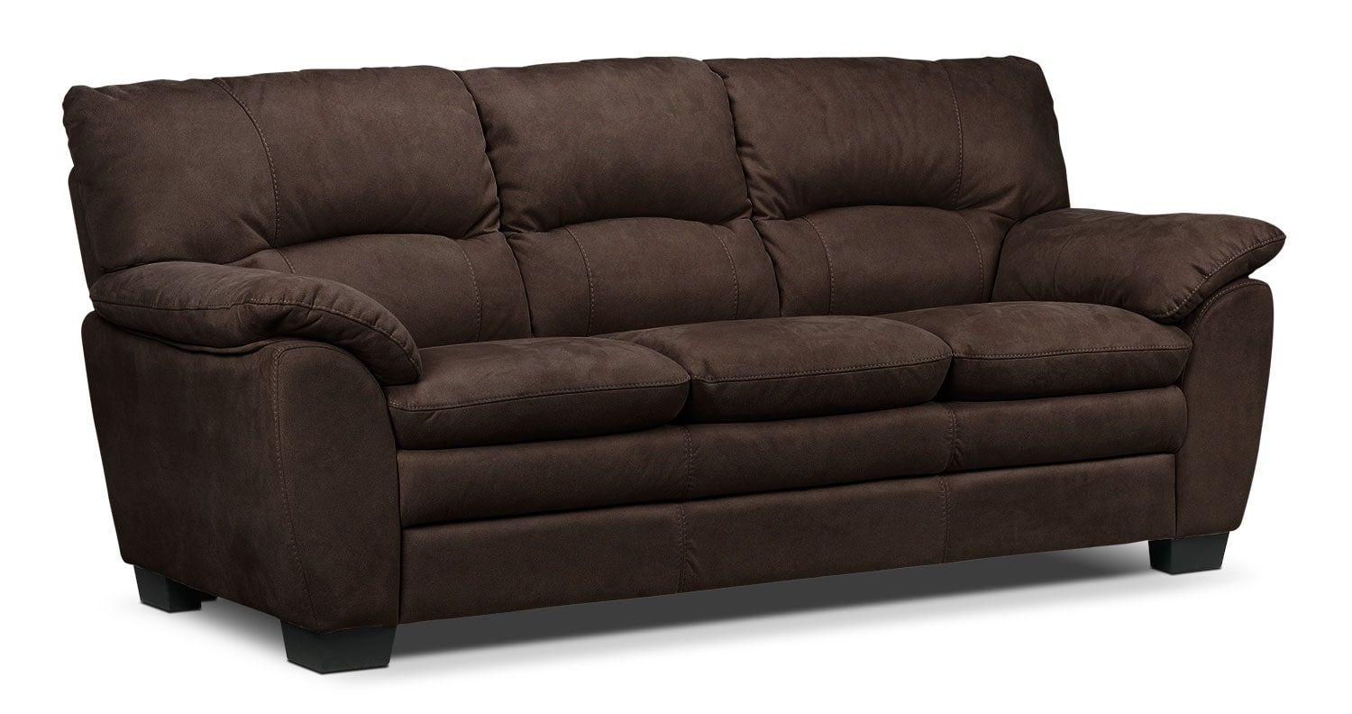 Living Room Furniture - Kelleher Walnut Sofa