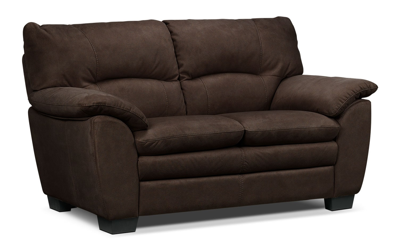 Living Room Furniture - Kelleher Loveseat - Walnut