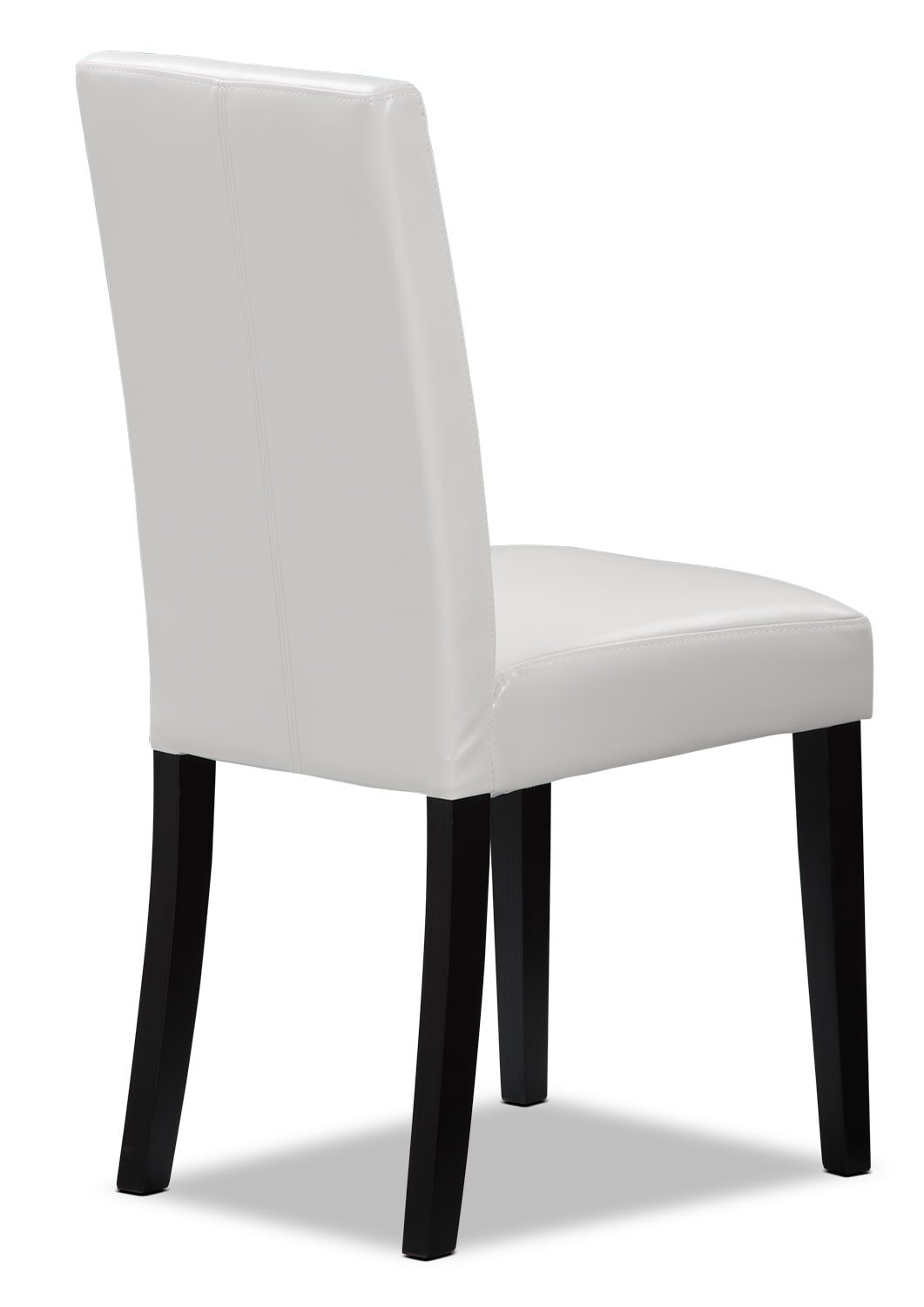 White Faux Leather Accent Dining Chair The Brick : 400035 from www.thebrick.com size 1061 x 1500 jpeg 176kB