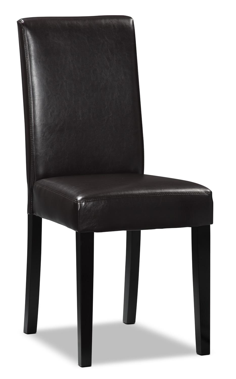 Salle à manger - Chaise d'appoint brun