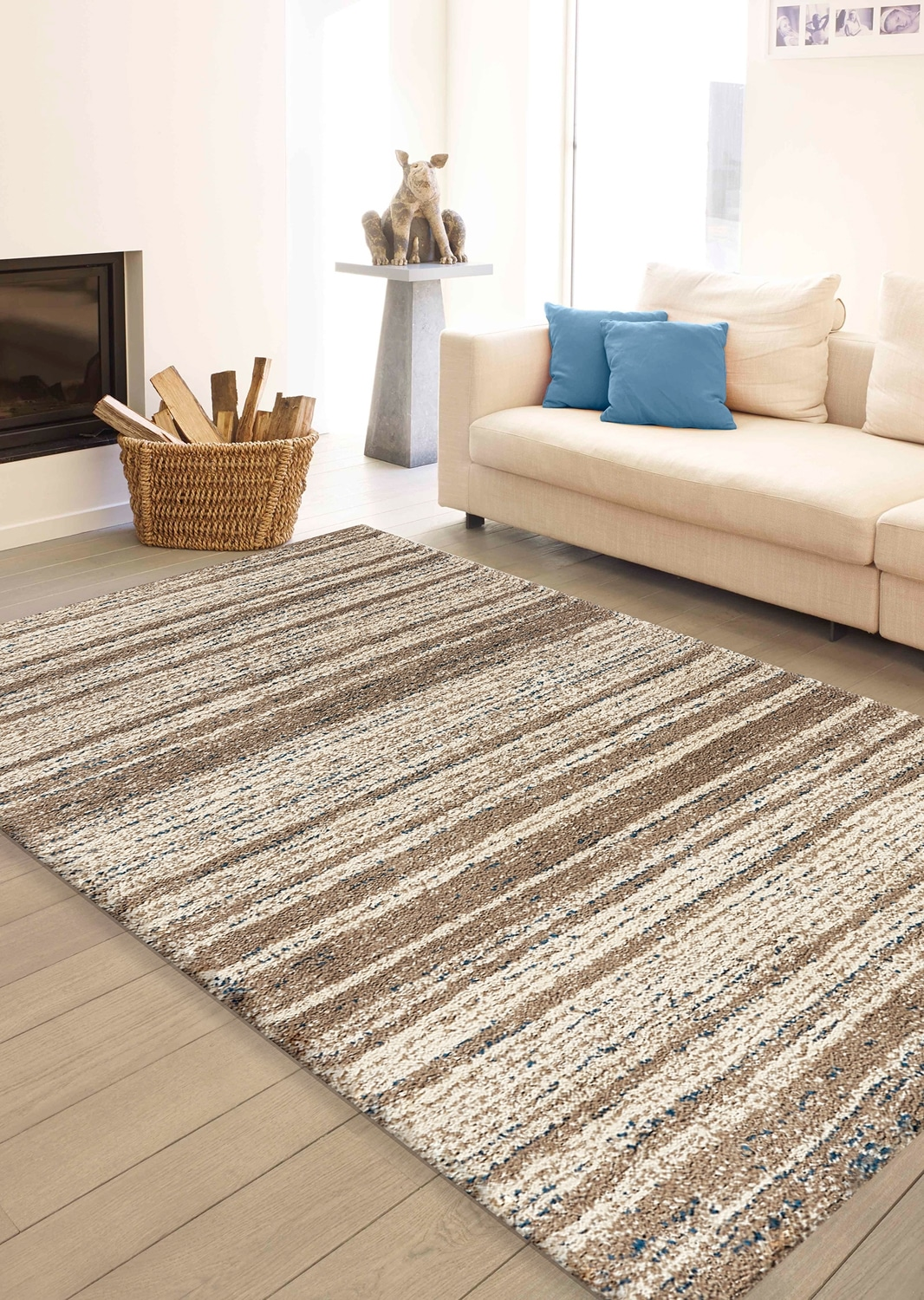 Maroq Tribal Area Rug – 5' x 8'