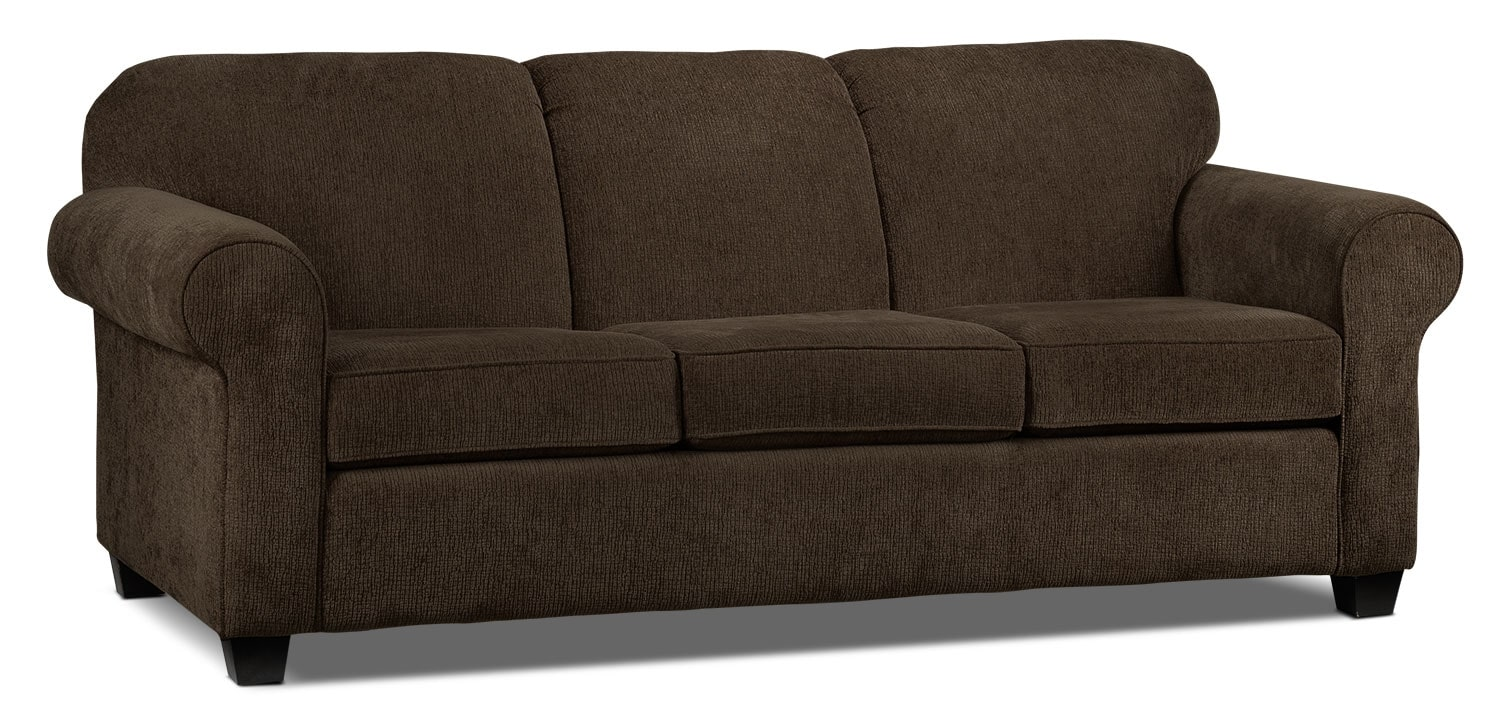 [Aristotle Sofa - Chocolate]