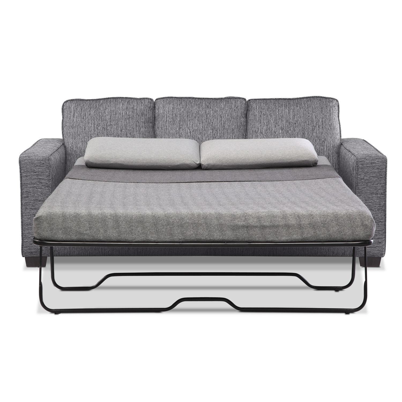 Sofa Sleeper With Chaise Sterling Beige Memory Foam
