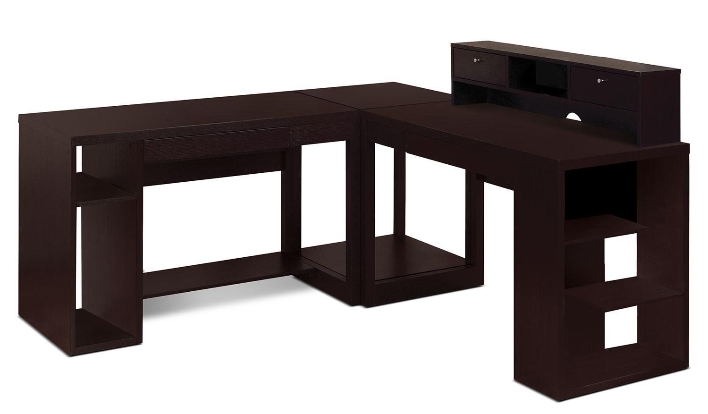 Peyton 4-Piece Desk Package | The Brick