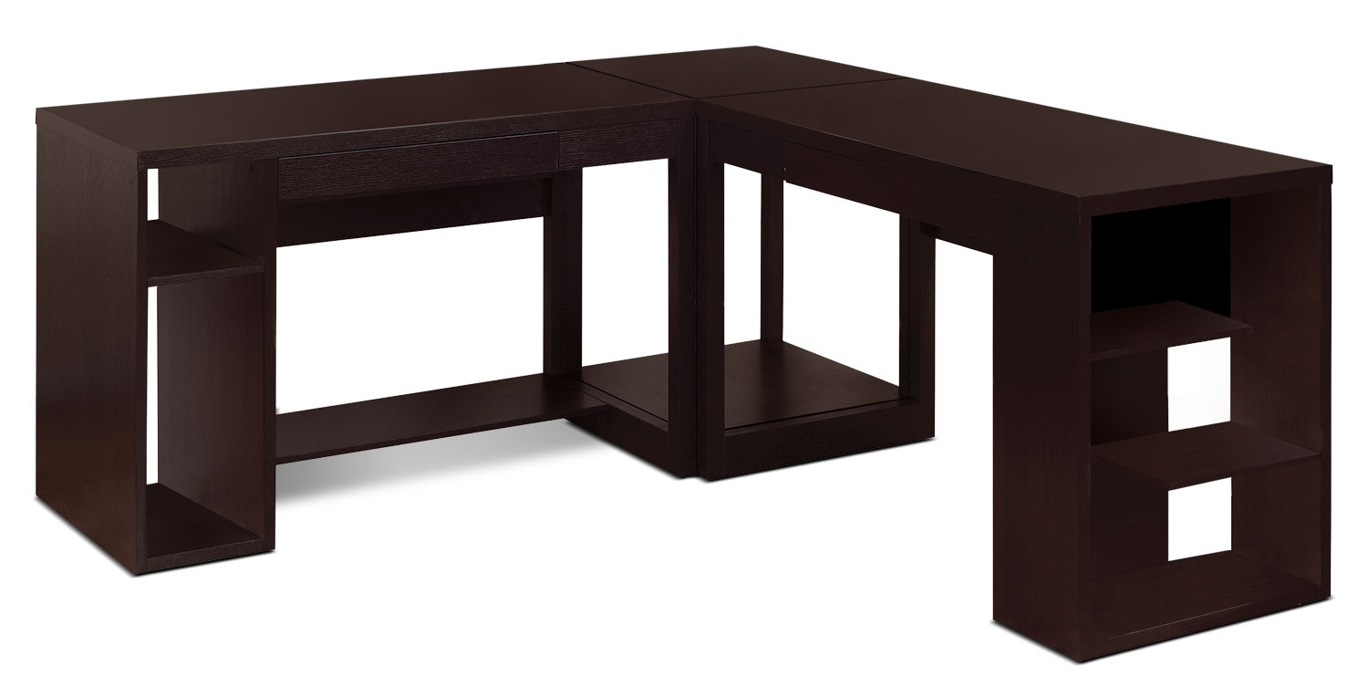 Home Office Furniture - Peyton 3-Piece Desk Package