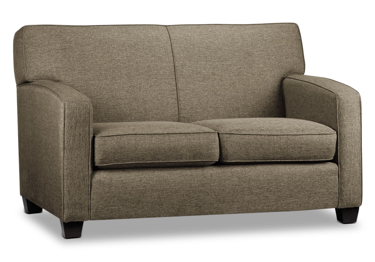 Living Room Furniture - Falcon Loveseat - Beige
