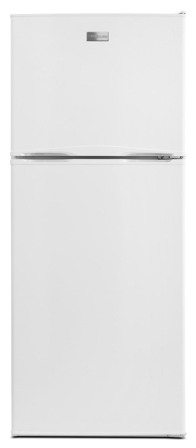 Refrigerators and Freezers - Frigidaire White Top-Freezer Refrigerator (11.5 Cu. Ft.) - FFET1222QW