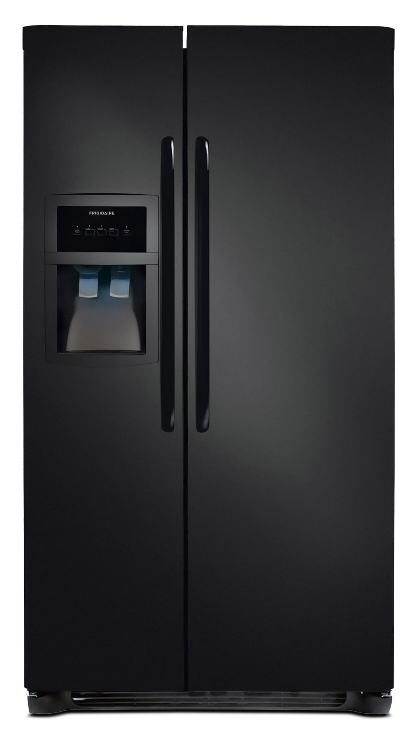 Frigidaire Black Side-by-Side Refrigerator (22.1 Cu. Ft.) - FFHS322MB