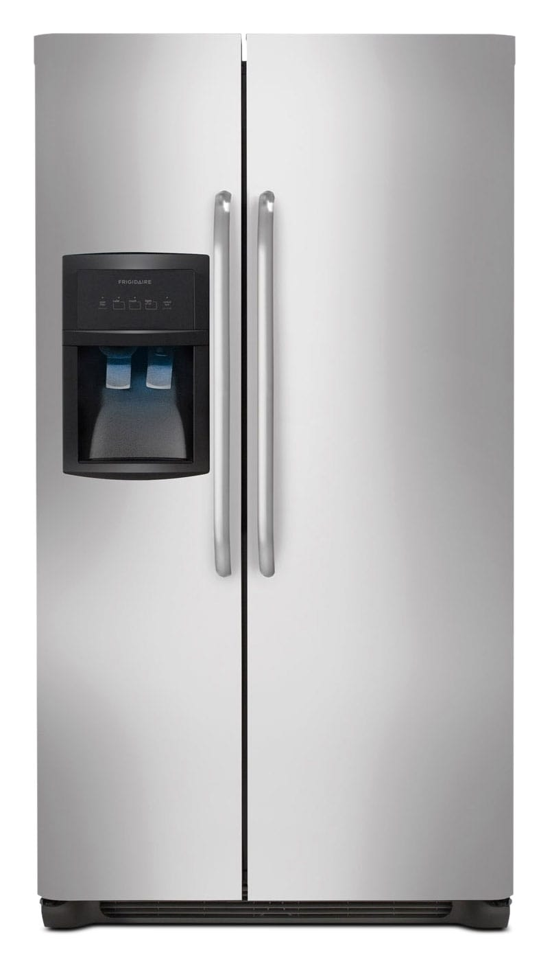 Frigidaire Stainless Steel Side-by-Side Refrigerator (22.1 Cu. Ft.) - FFHS2322MS