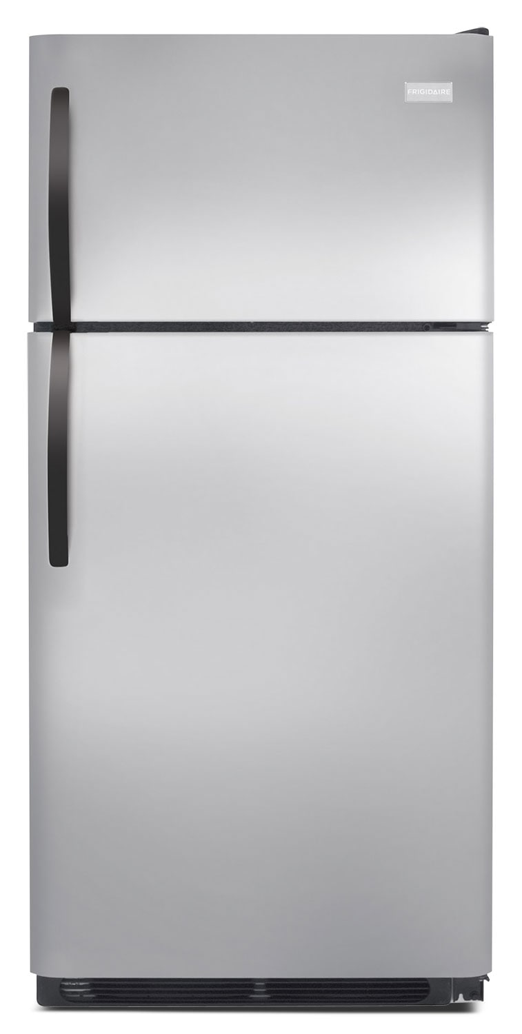Refrigerators and Freezers - Frigidaire Stainless Steel Top-Freezer Refrigerator (14.6 Cu. Ft.) - FFHT1514QS