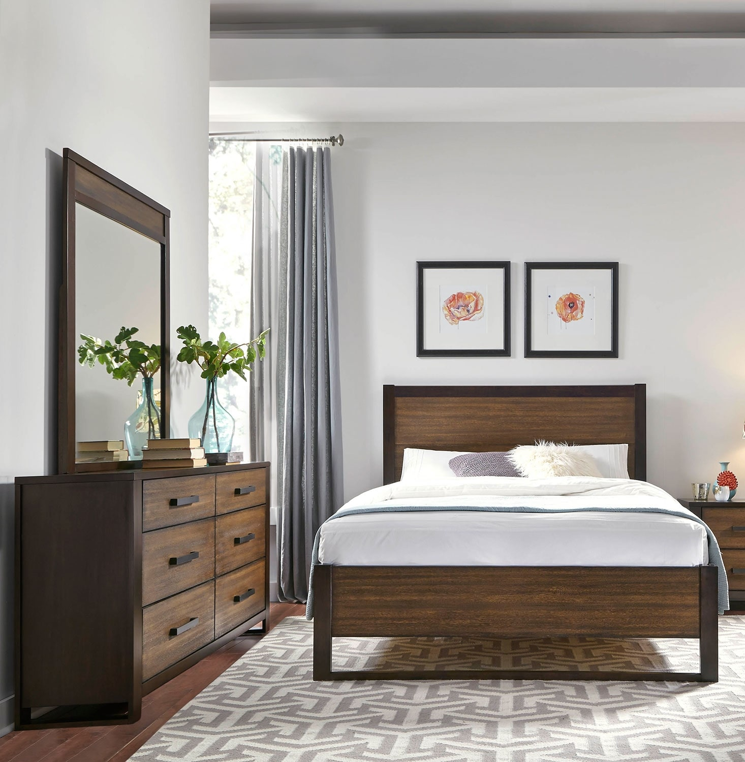 Bedroom Furniture - Hampton 5-Piece King Bedroom Package