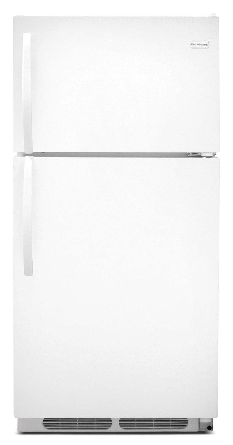 Refrigerators and Freezers - Frigidaire White Top-Freezer Refrigerator (14.6 Cu. Ft.) - FFHT1514QW