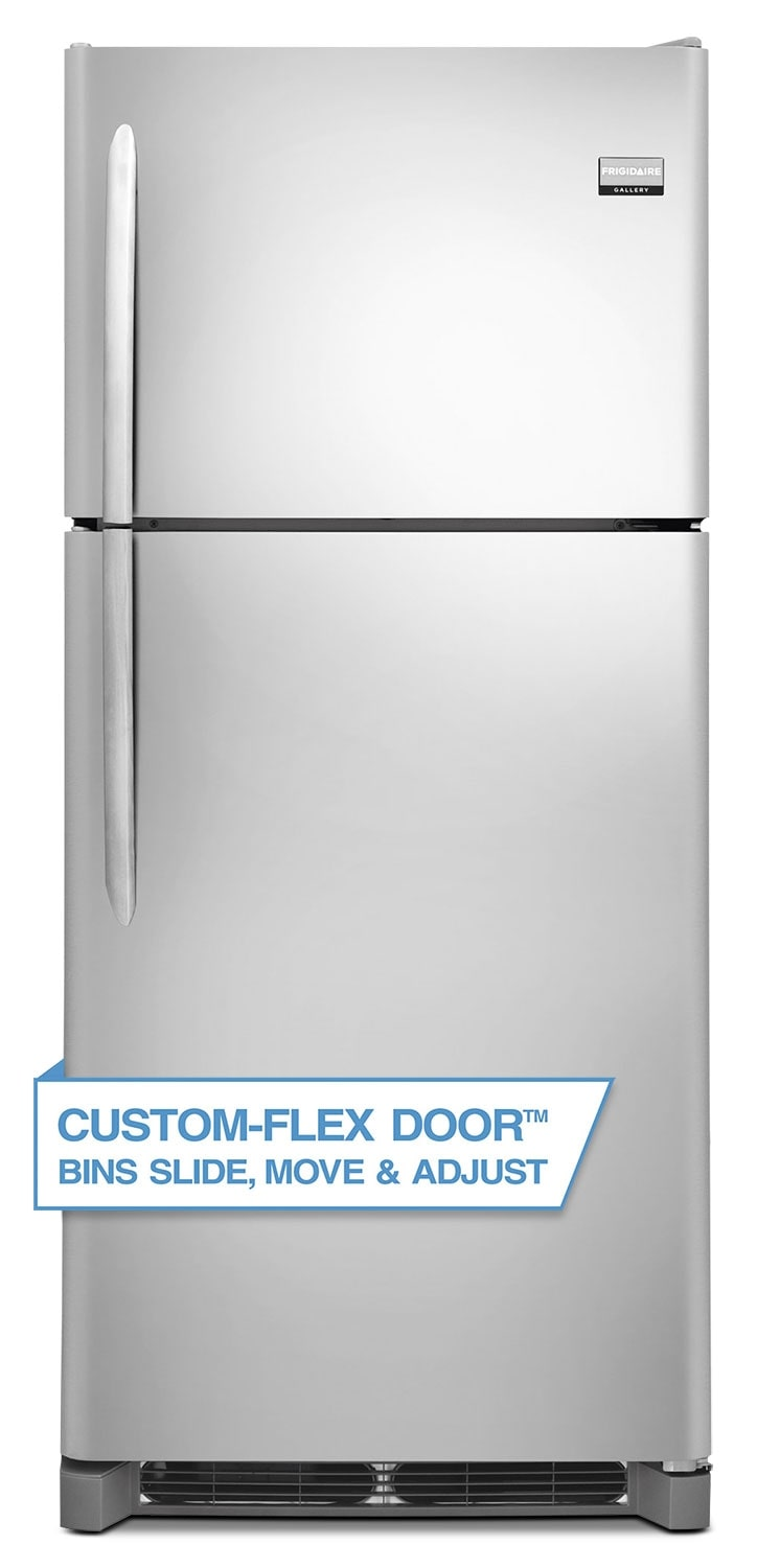 Refrigerators and Freezers - Frigidaire Gallery Stainless Steel Top-Freezer Refrigerator (20 Cu. Ft.) - FGHT2046QF