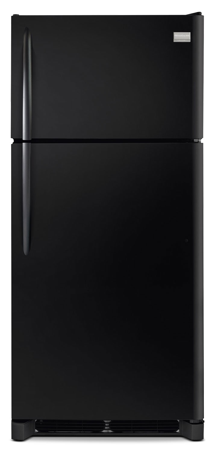 Refrigerators and Freezers - Frigidaire Gallery Black Top-Freezer Refrigerator (18.3 Cu. Ft.) - FGTR1845QE