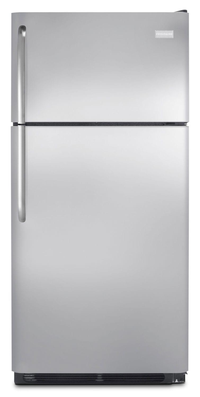 Refrigerators and Freezers - Frigidaire Stainless Steel Top-Freezer Refrigerator (18 Cu. Ft.) - FFHT1831QS