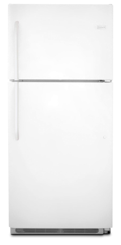 Refrigerators and Freezers - Frigidaire White Top-Freezer Refrigerator (20.5 Cu. Ft.) - FFHT2131QP