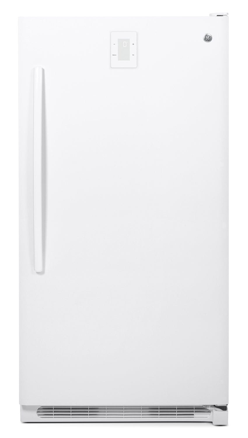 Refrigerators and Freezers - GE 16.6 Cu. Ft. Frost-Free Upright Freezer - White